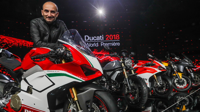 Ducati 2018 World Premiere - Claudio