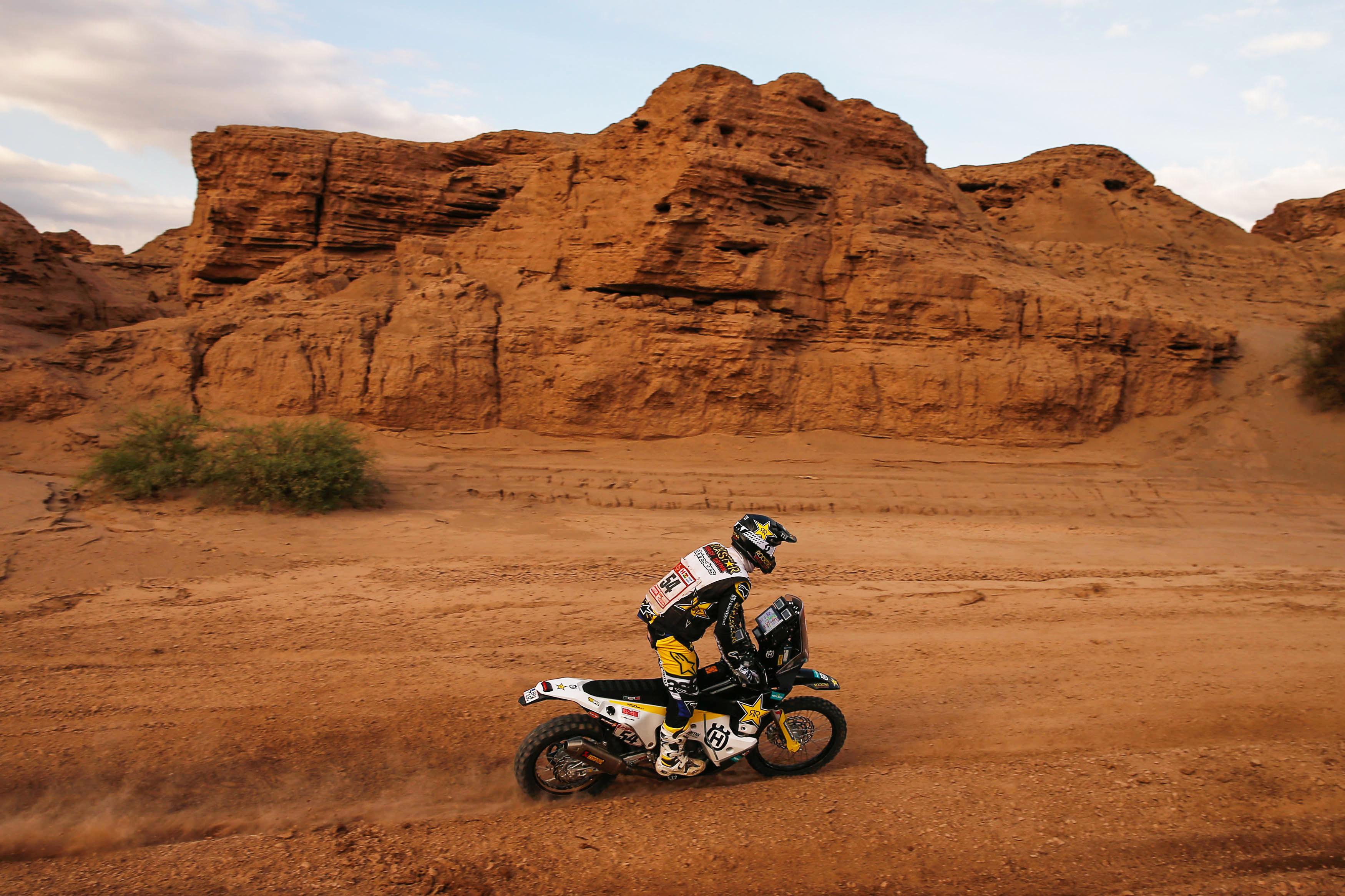 Andrew Short – Rockstar Energy Husqvarna Factory Racing - Dakar Rally