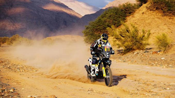 Pablo Quintanilla - Rockstar Energy Husqvarna Factory Racing - Dakar Rally