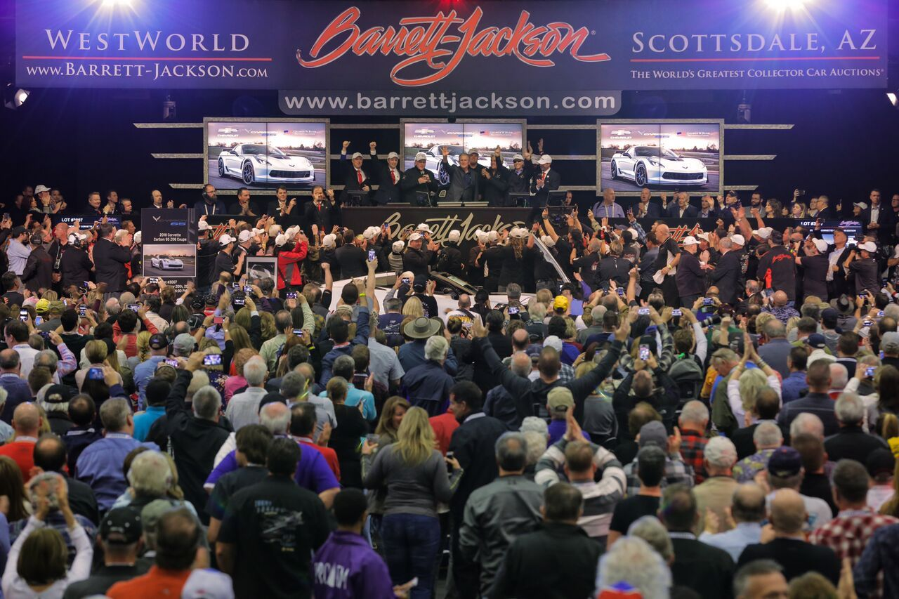 Barrett-Jackson Scottsdale Auction