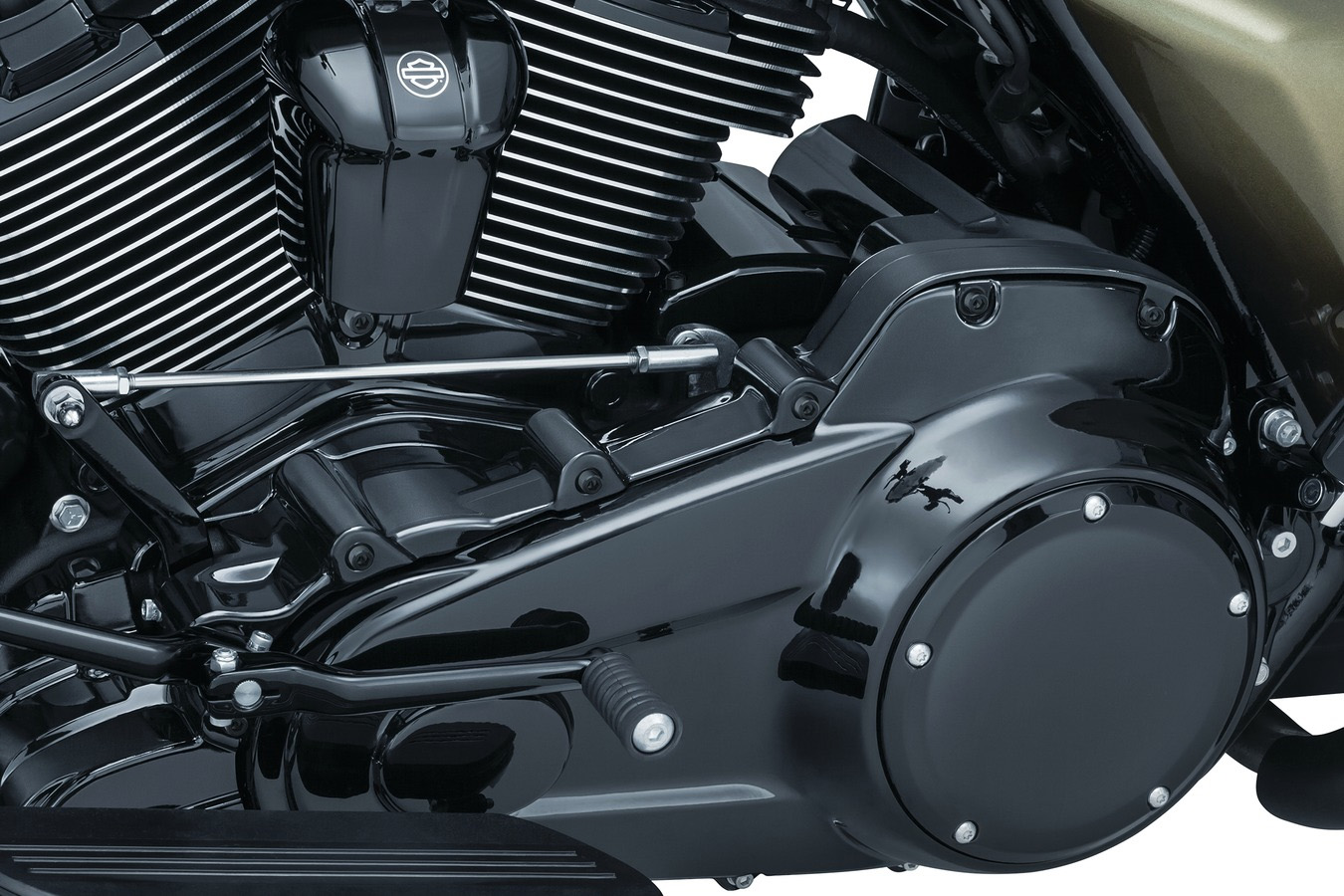 Kuryakyn Black Precision Engine Covers for Milwaukee-Eight