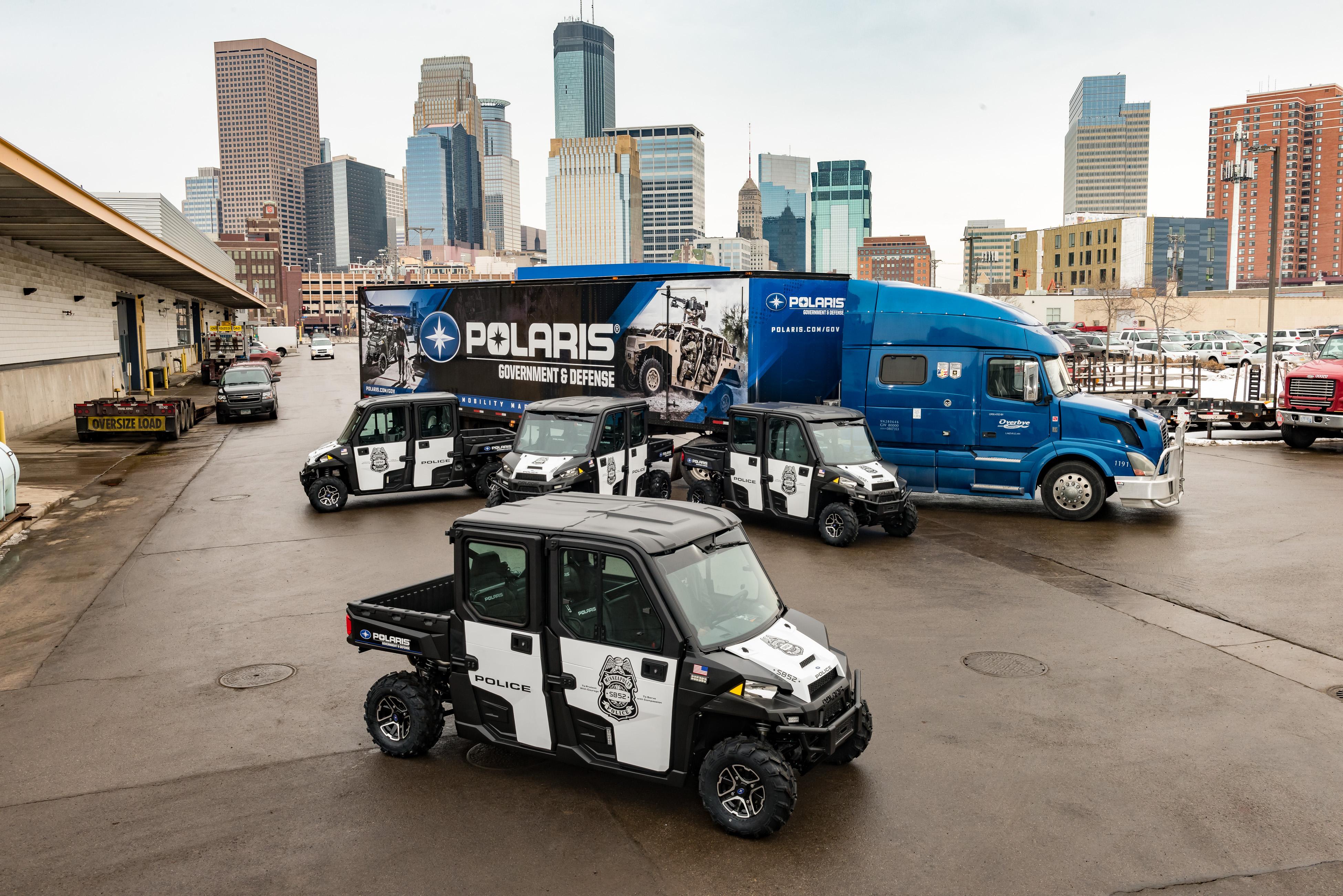 Super Bowl Polaris SB52 Police RANGER