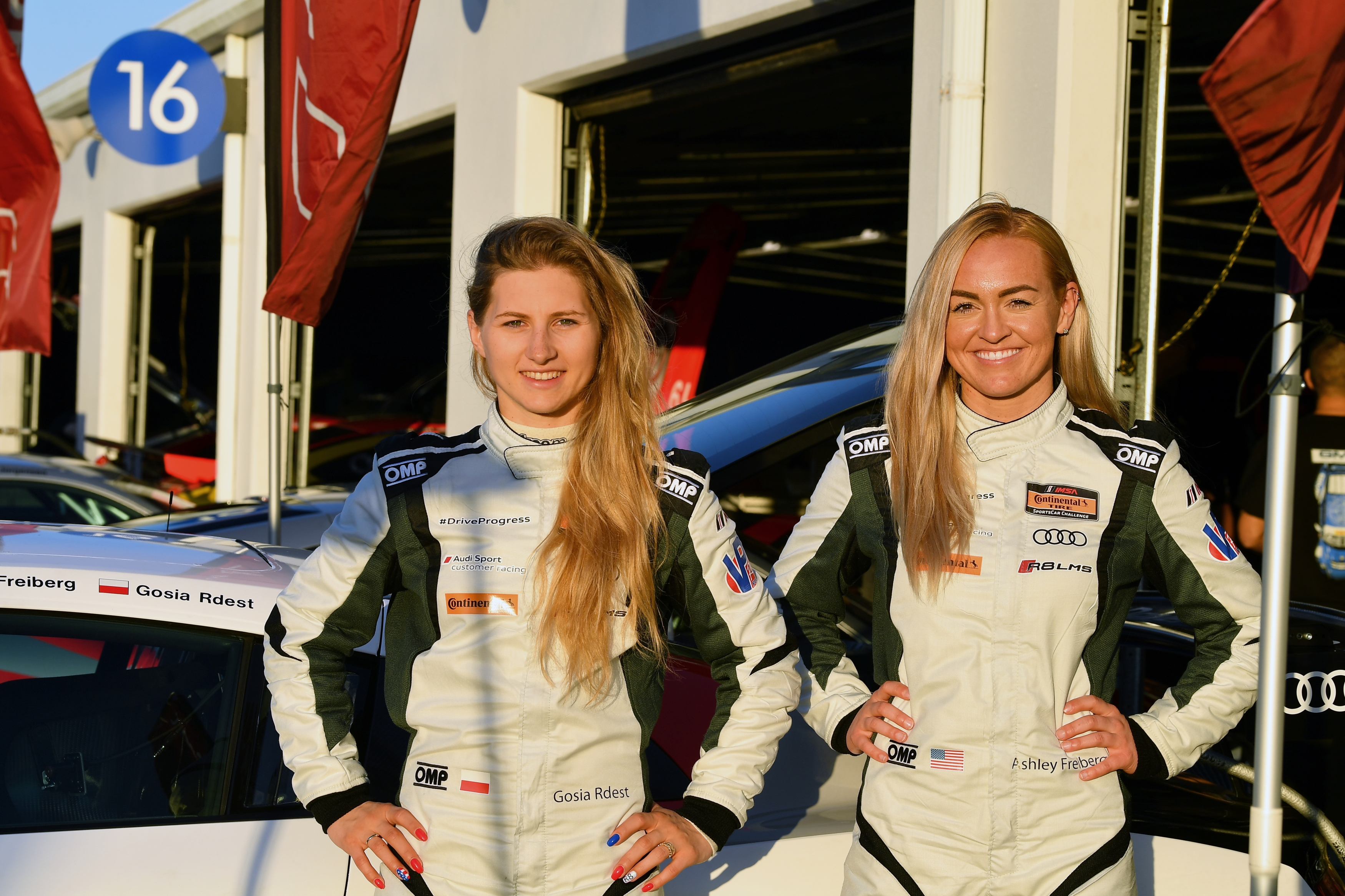 Ashley Freiberg and Gosia Rdest to compete in Continental Tire SportsCar Challenge GS class