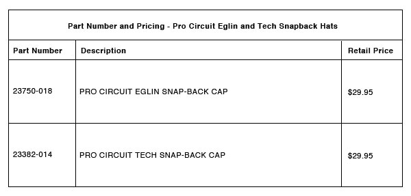 Pro Circuit Part Number Pricing R 2B
