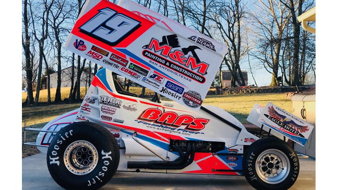 Car Paint Colors >> Brent Marks new look for sophomore season with the World of Outlaws