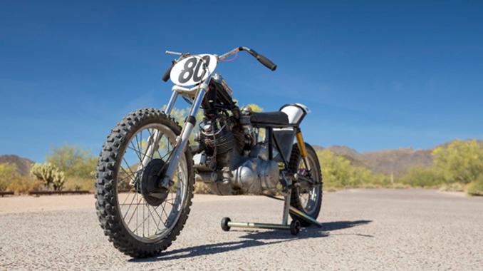 Las Vegas Vintage Motorcycle Auction - 1948 Vincent Rapide Series B Hillclimber 1,000cc, 4-Speed (Lot S137) Mecum