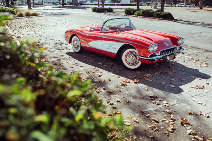 Mecum Los Angeles - 1959 Chevrolet Corvette Convertible 283 CI, 4-Speed (Lot F114)