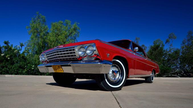 Mecum Los Angeles - 1962 Chevrolet Impala SS Hardtop 409/409 HP, 4-Speed (Lot F103)
