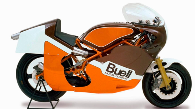 Las Vegas Vintage Motorcycle Auction - 1984 Buell Production No. 1 RW750 (Lot S225) Mecum