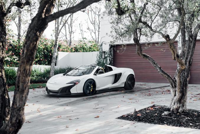 Mecum Los Angeles - 2015 McLaren 650S Spider Twin-Turbo 3.8L, Automatic (Lot S115.1)