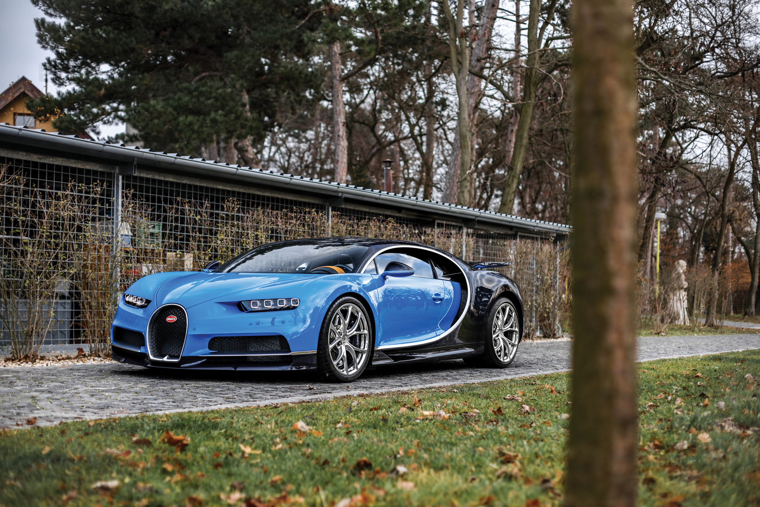 2017 Bugatti Chiron featured in RM Sotheby's 2018 Paris auction during Rétromobile (Credit – Kevin Van Campenhout © 2017 Courtesy of RM Sotheby's)