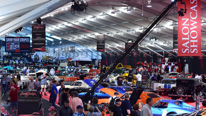 "Super Saturday - The Salon Showcase, presented by E.D. Marshall Jewelers and Ulysse Nardin, features some of the top cars heading to the block on ""Super Saturday"" at the 2018 Barrett-Jackson Scottsdale Auction"