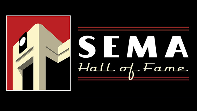 2018 SEMA Hall of Fame logo