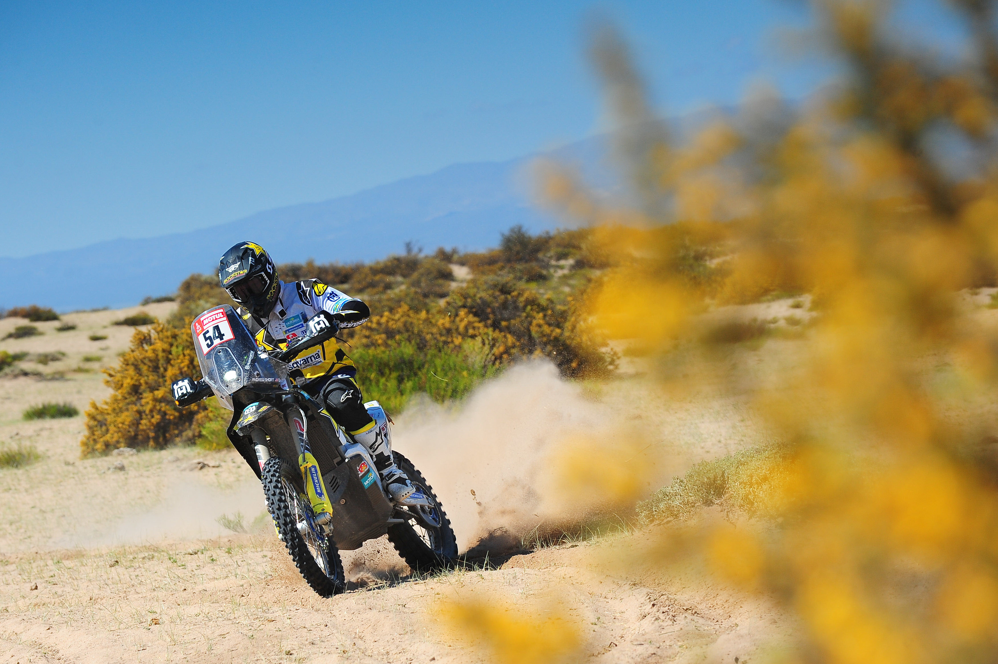 Andrew Short – Rockstar Energy Husqvarna Factory Racing-Dakar Rally stage 10