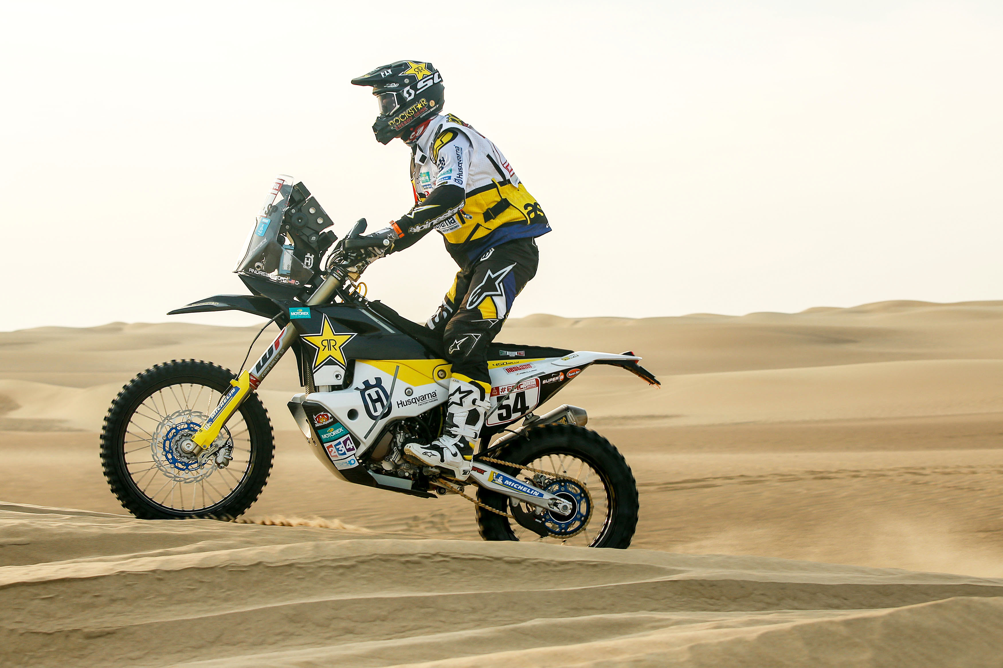 Andrew Short – Rockstar Energy Husqvarna Factory Racing - Dakar Rally stage 8