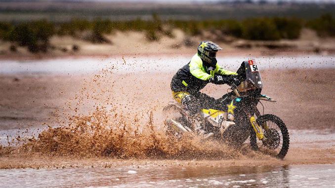 Andrew Short - Rockstar Energy Husqvarna Factory Racing - Dakar Rally stage 8