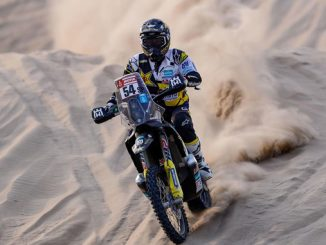 Andrew Short - Rockstar Energy Husqvarna Factory Racing Dakar Rally stage four