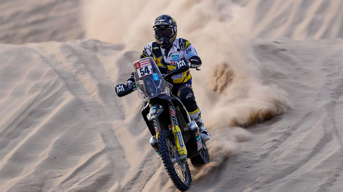 Andrew Short - Rockstar Energy Husqvarna Factory Racing Dakar Rally stage four