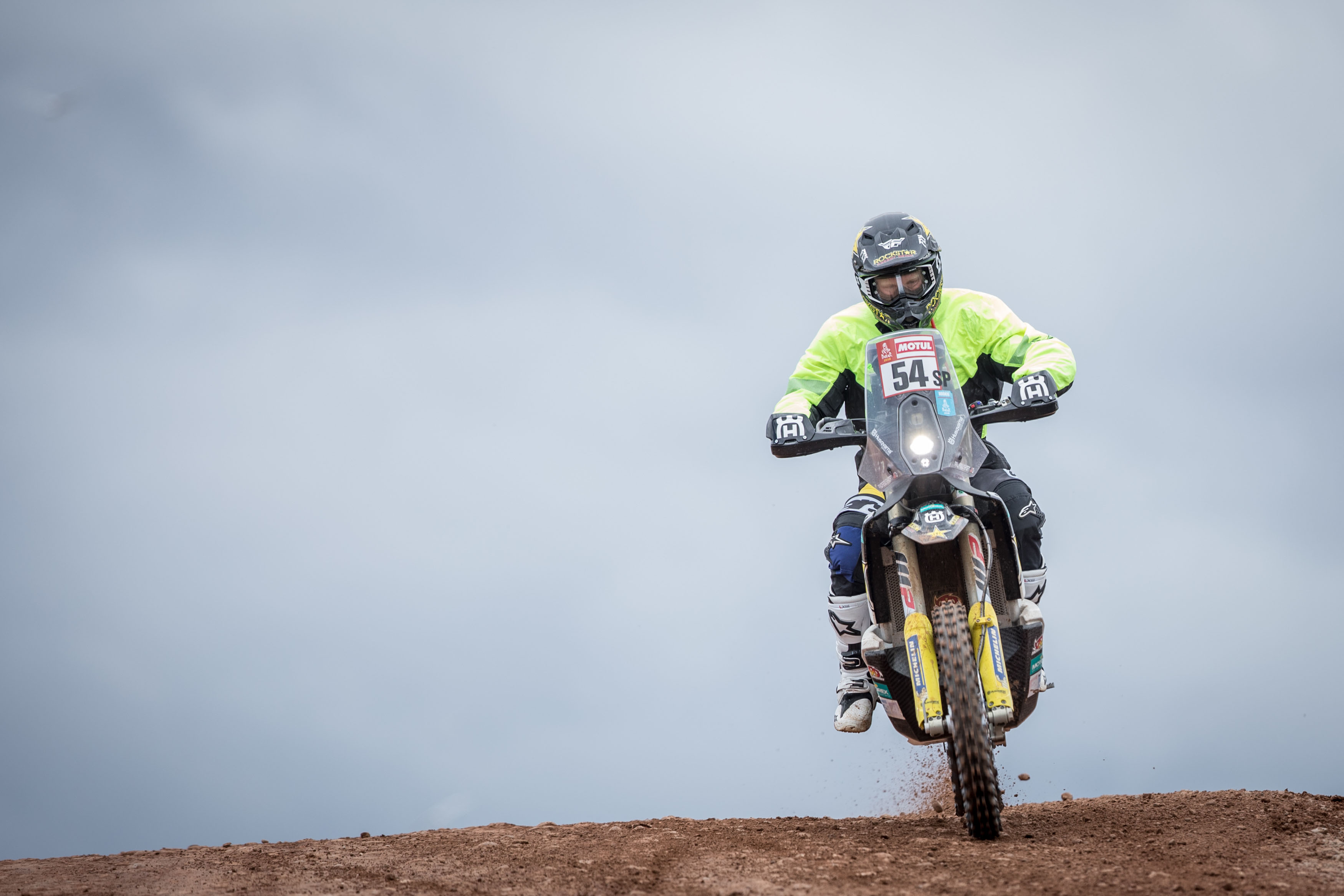 Andrew Short - Rockstar Energy Husqvarna Factory Racing-Dakar Rally stage seven