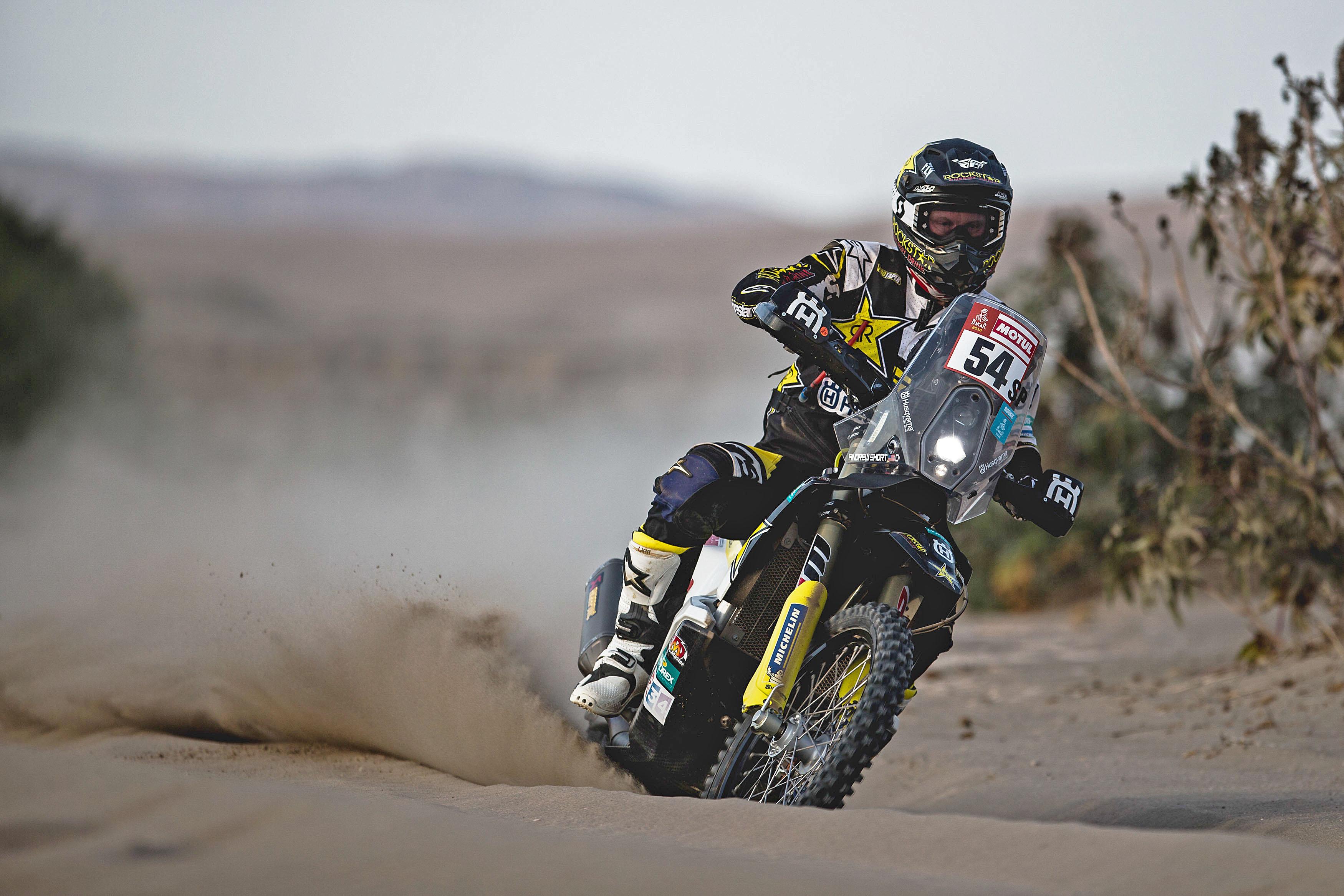 Andrew Short - Rockstar Energy Husqvarna Factory Racing-stage five Dakar Rally