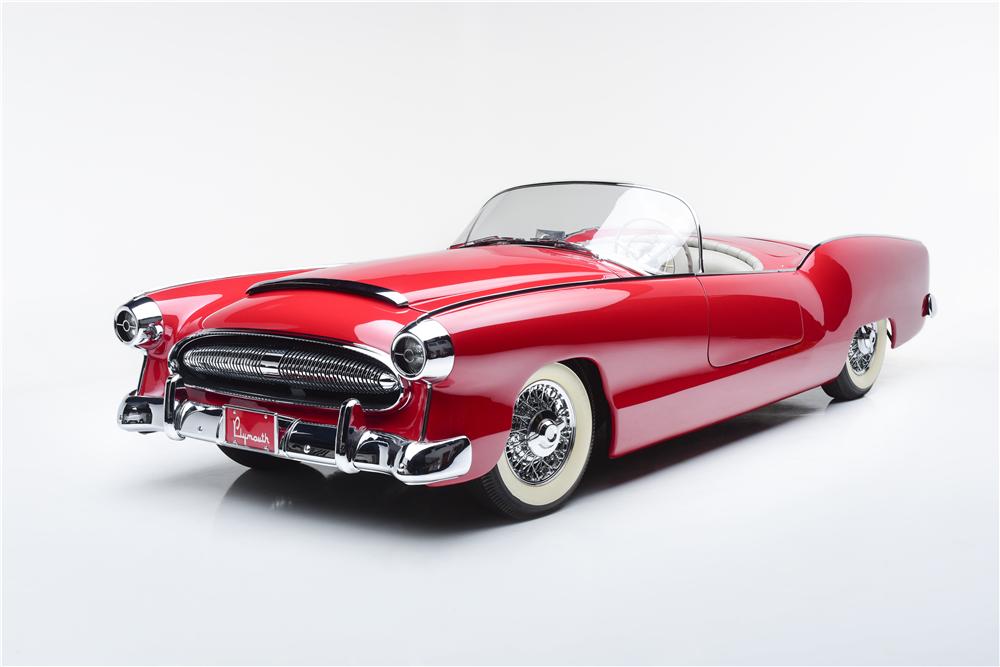Barrett-Jackson Scottsdale - 1954 Plymouth Belmont Concept