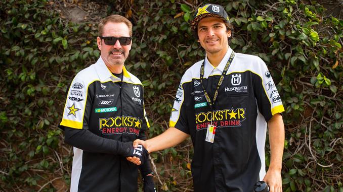 Bobby Hewitt & Jason Anderson - Rockstar Energy Husqvarna Factory Racing
