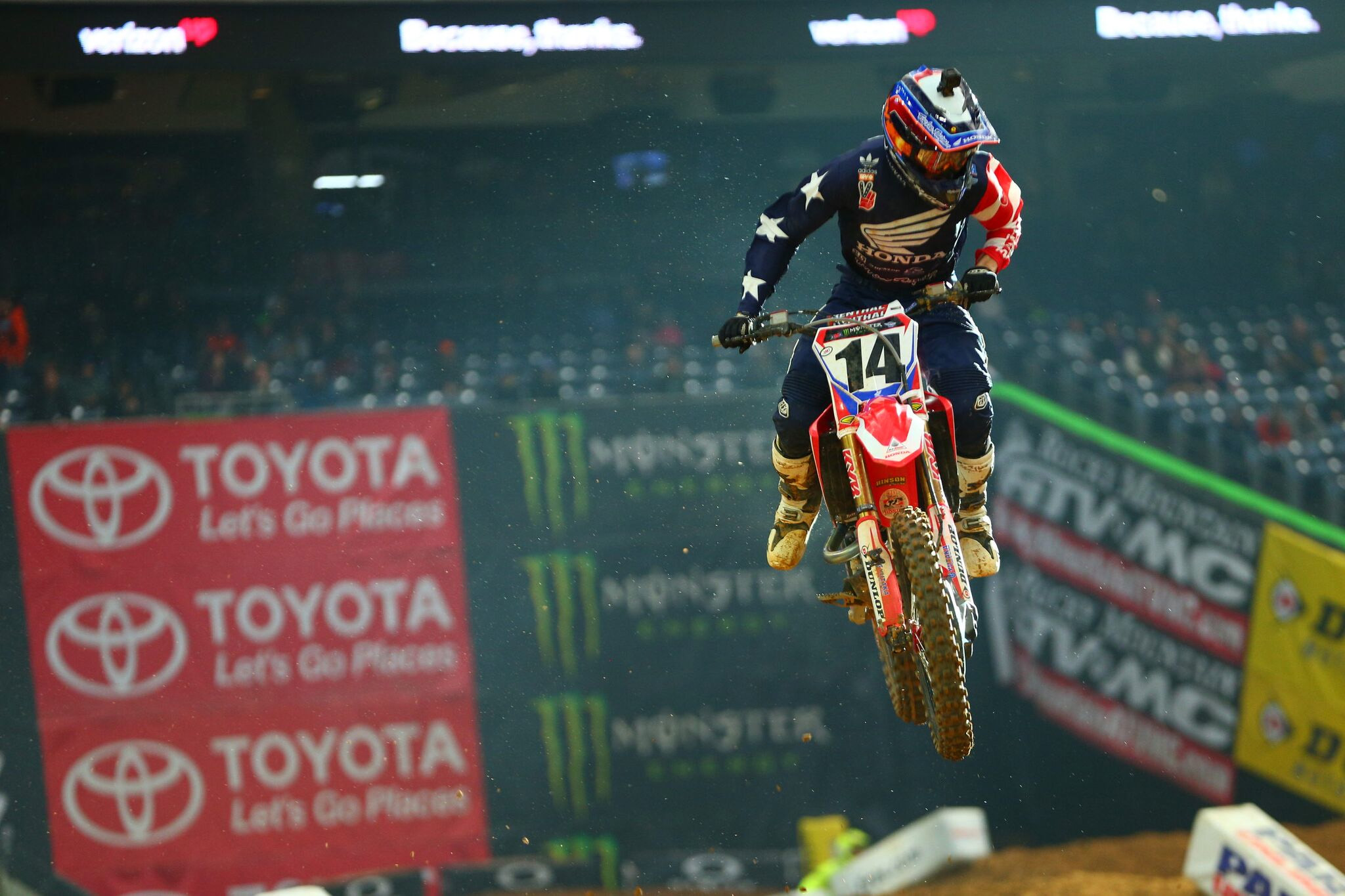 Cole Seely Troy Lee Designs - Houston SX