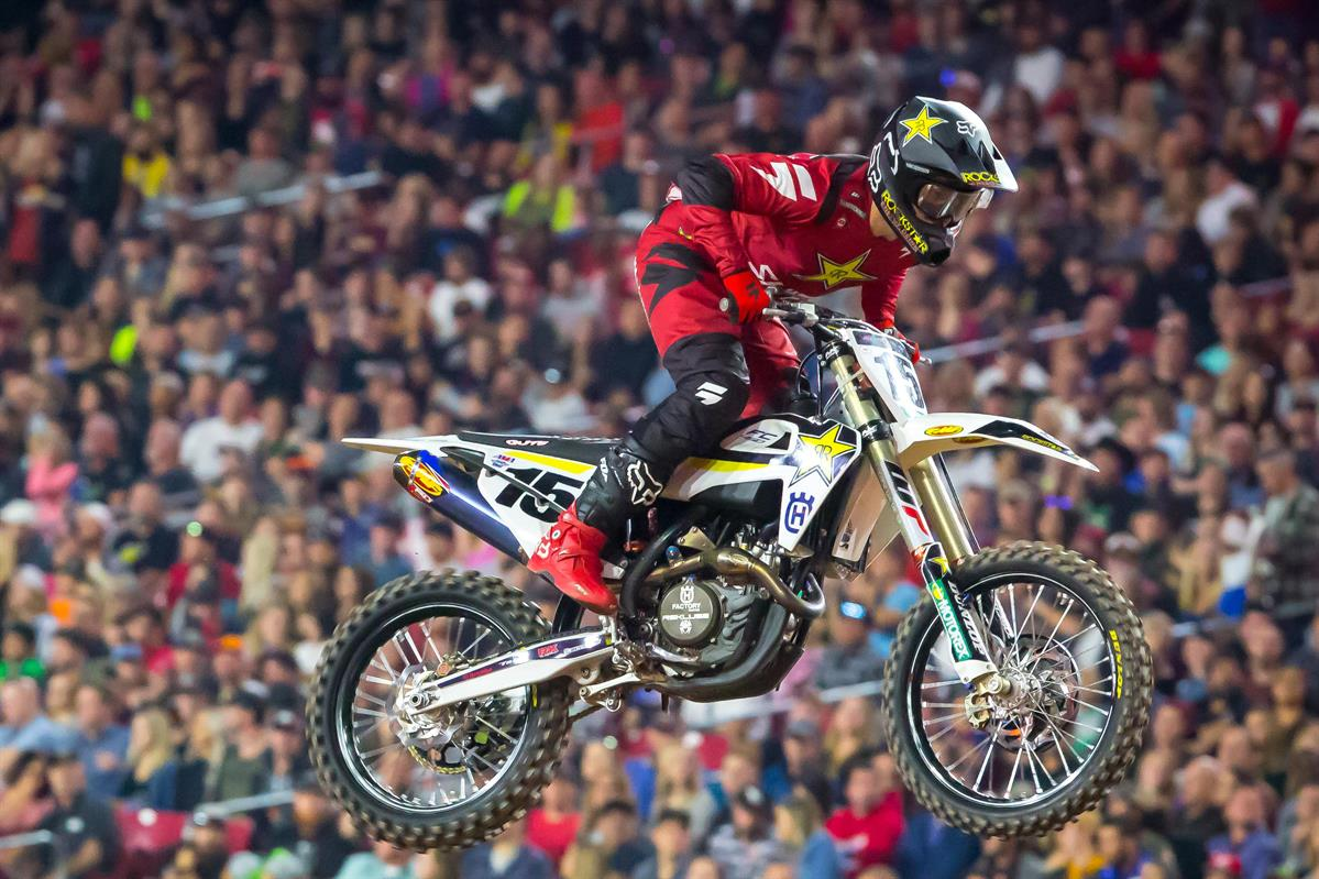 Husqvarna Factory Racing - Dean Wilson finished 15th at Glendale