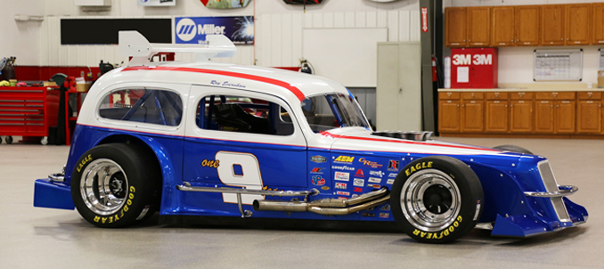 GHOST - built from the ground up by Evernham and his team at Big Iron Garage the old fashioned way