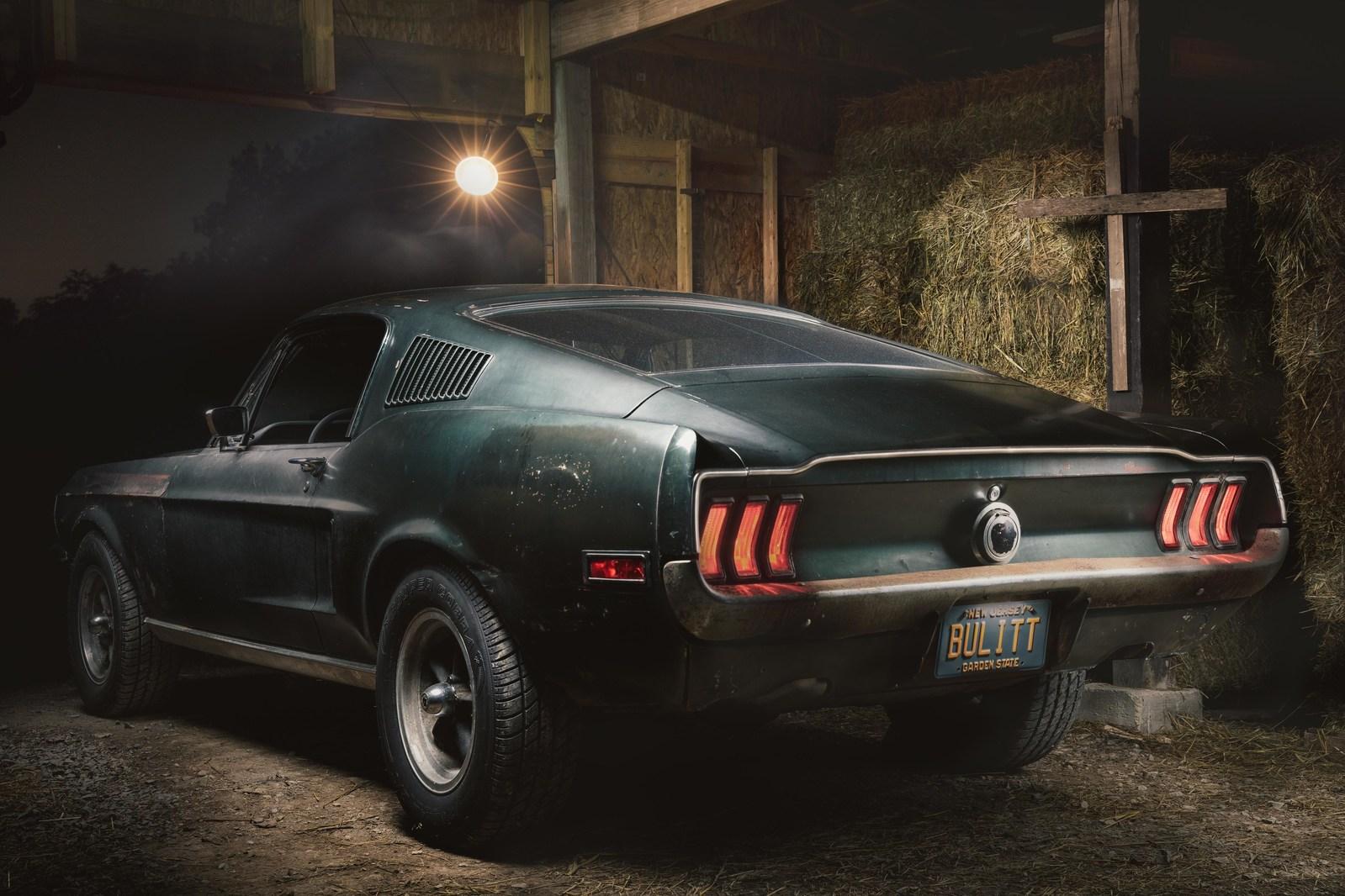 Original 1968 Mustang '559 from movie Bullitt