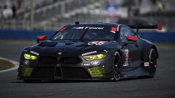 """BMW M8 GTE makes race debut at the """"Rolex 24"""" in Daytona"""