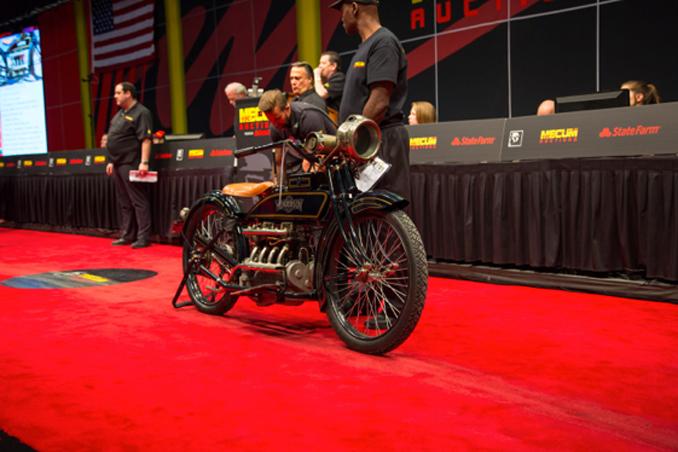 Mecum Auction Las Vegas - 1917 Henderson Four Steve McQueen-(Lot-F191) at $110,000
