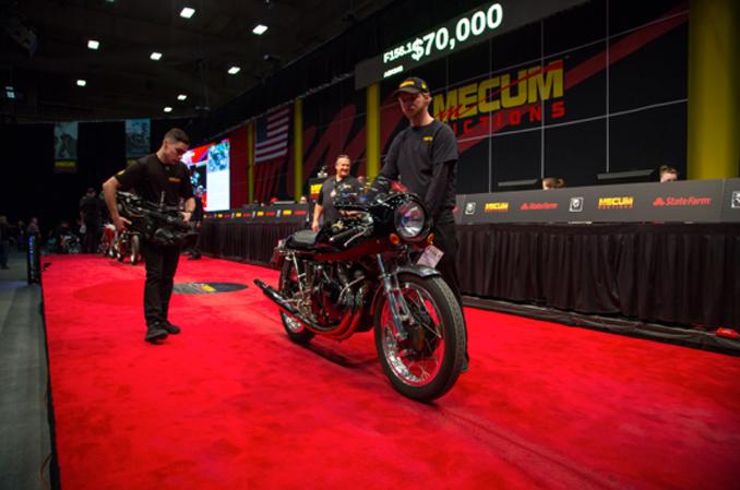 Mecum Auction Las Vegas - 1968 Vincent Shadow Recreation (Lot-F156.1) at $107,250