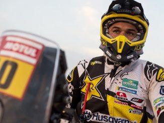 Pablo Quintanilla - Rockstar Energy Husqvarna Factory Racing - Dakar Rally stage 8