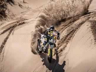 Pablo Quintanilla No10 Rockstar Energy Husqvarna Factory Racing Dakar 2018