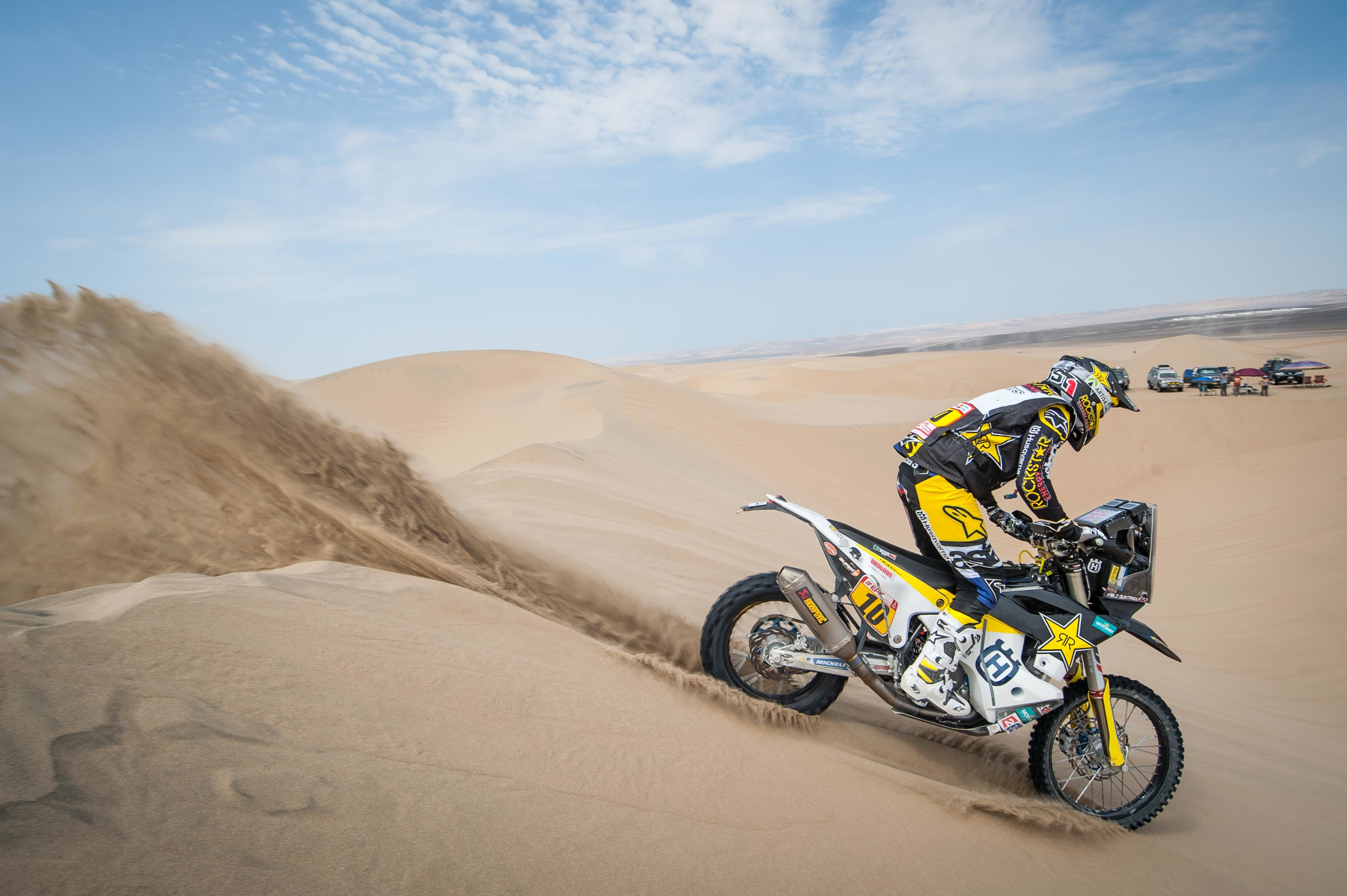 Pablo Quintanilla - Rockstar Energy Husqvarna Factory Racing-Dakar Rally stage four