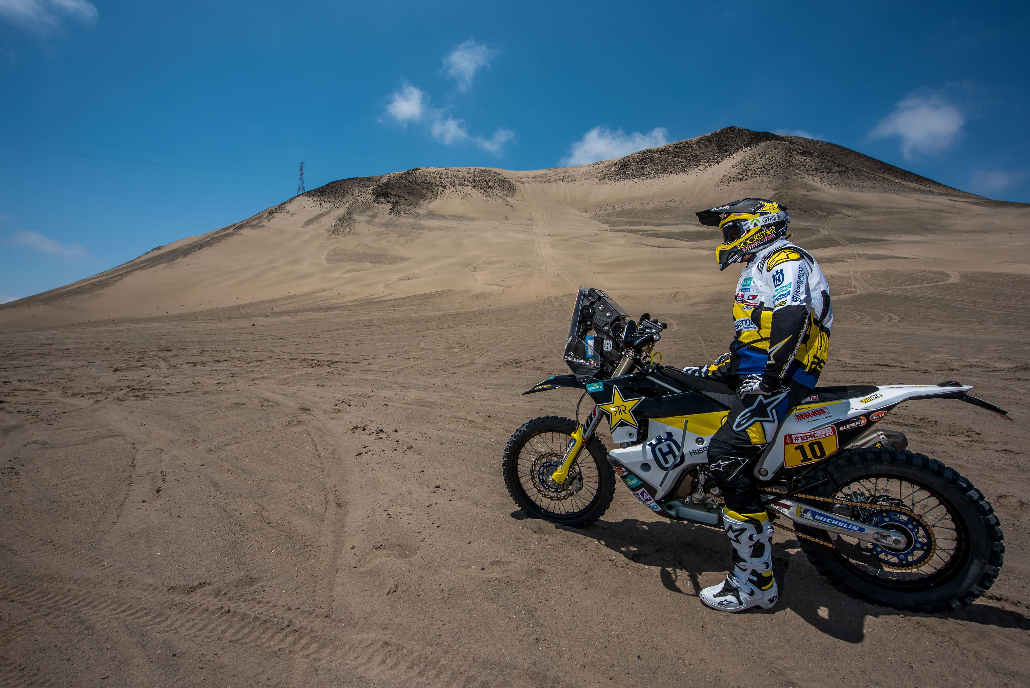 Pablo Quintanilla - Rockstar Energy Husqvarna Factory Racing-Dakar Rally