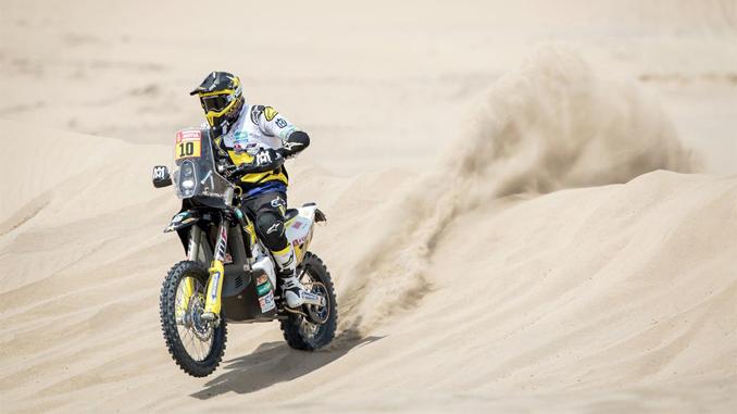 Pablo Quintanilla - Rockstar Energy Husqvarna Factory Racing - Dakar Rally stage 3