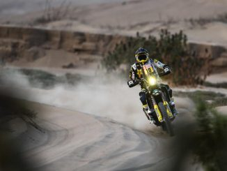 Pablo Quintanilla - Rockstar Energy Husqvarna Factory Racing stage five Dakar Rally