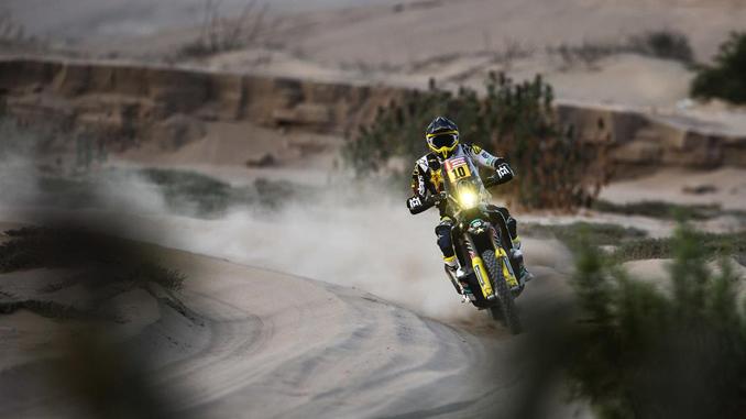 Pablo Quintanilla - Rockstar Energy Husqvarna Factory Racing stage five Dakar Rally