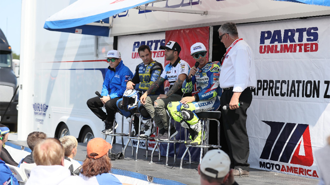 Parts Unlimited is back for a third year of its partnership with MotoAmerica