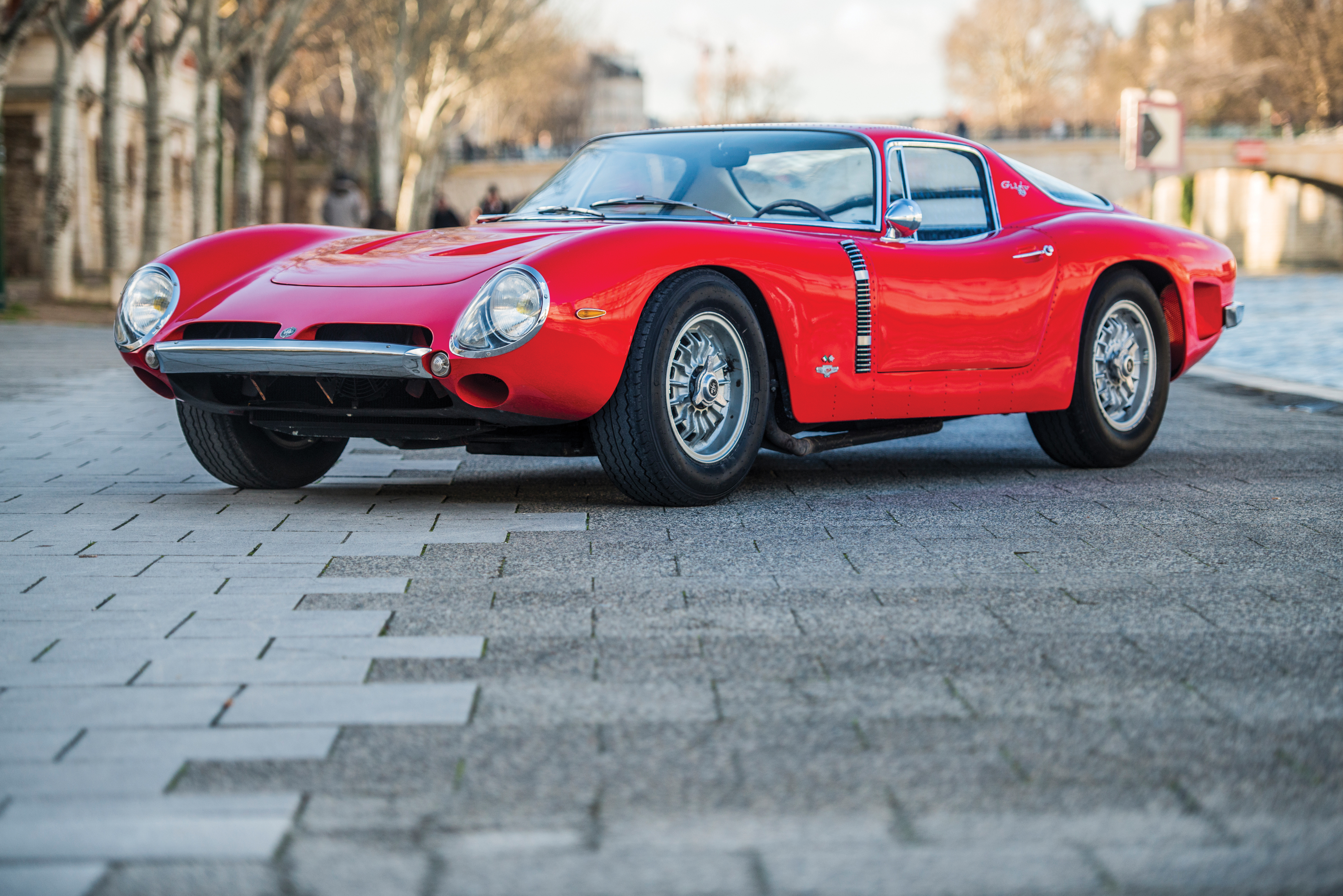 Riveted 1965 Iso Grifo A3/C formerly owned by the late Johnny Hallyday set for RM Sotheby's Paris sale on 7 February (Credit – Remi Dargegen © 2017 Courtesy of RM Sotheby's)