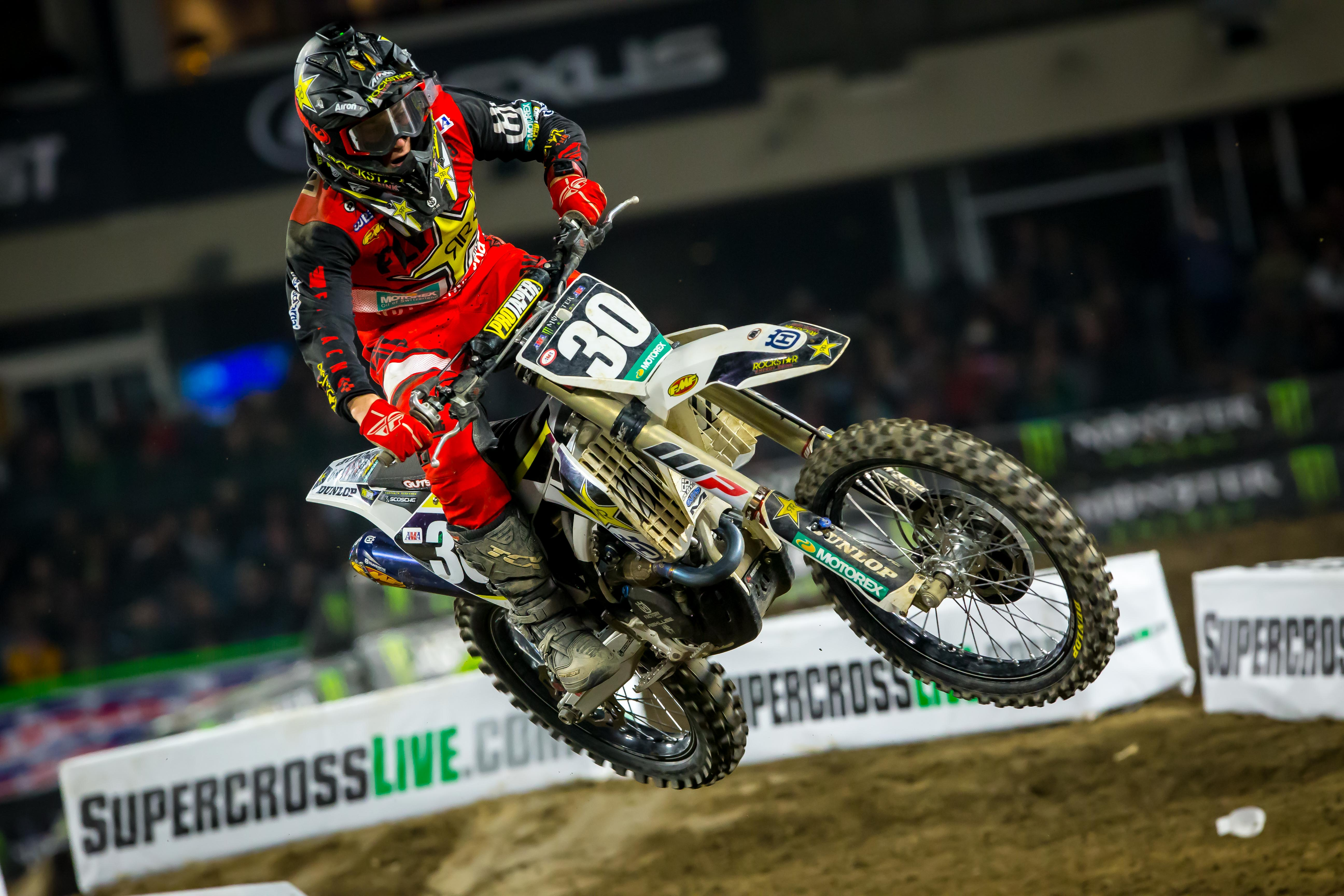 Rockstar Energy Husqvarna Factory Racing #30 at Anaheim 1