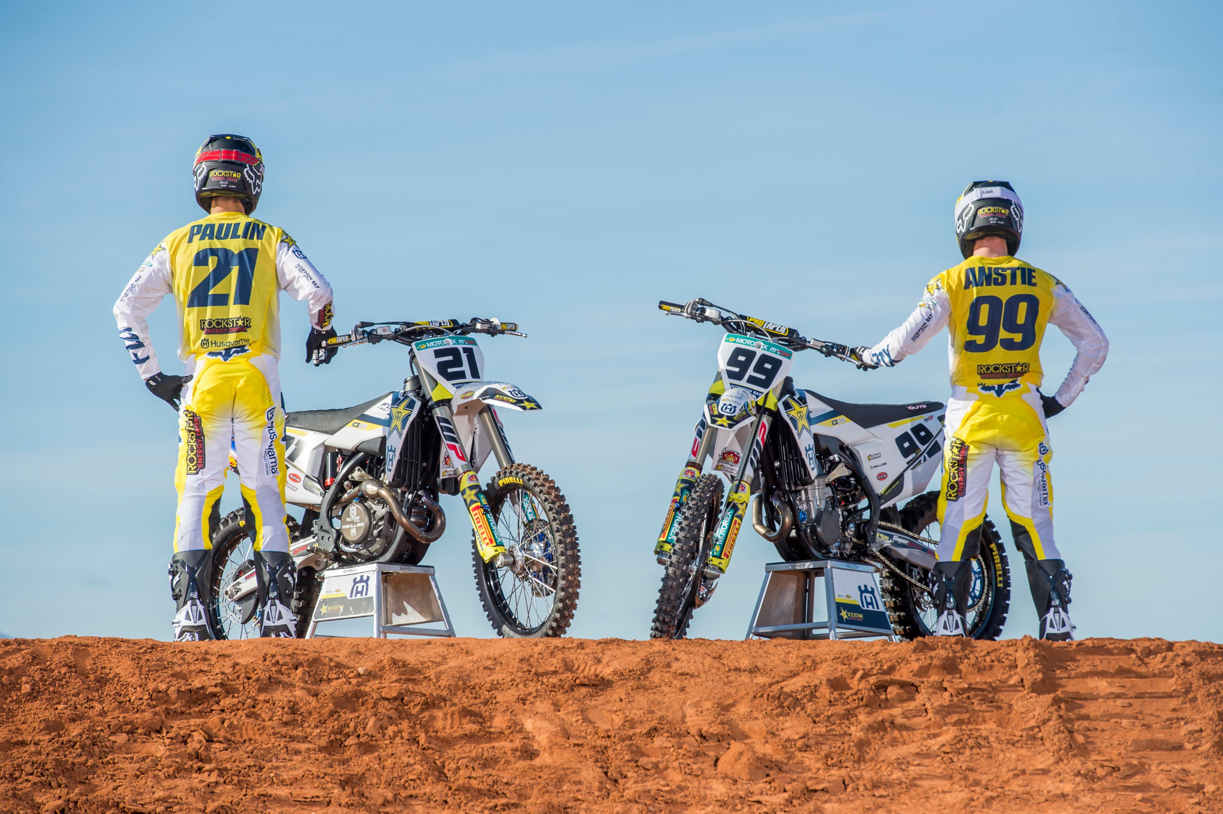 Rockstar Energy Husqvarna Factory Racing MXGP Paulin & Anstie
