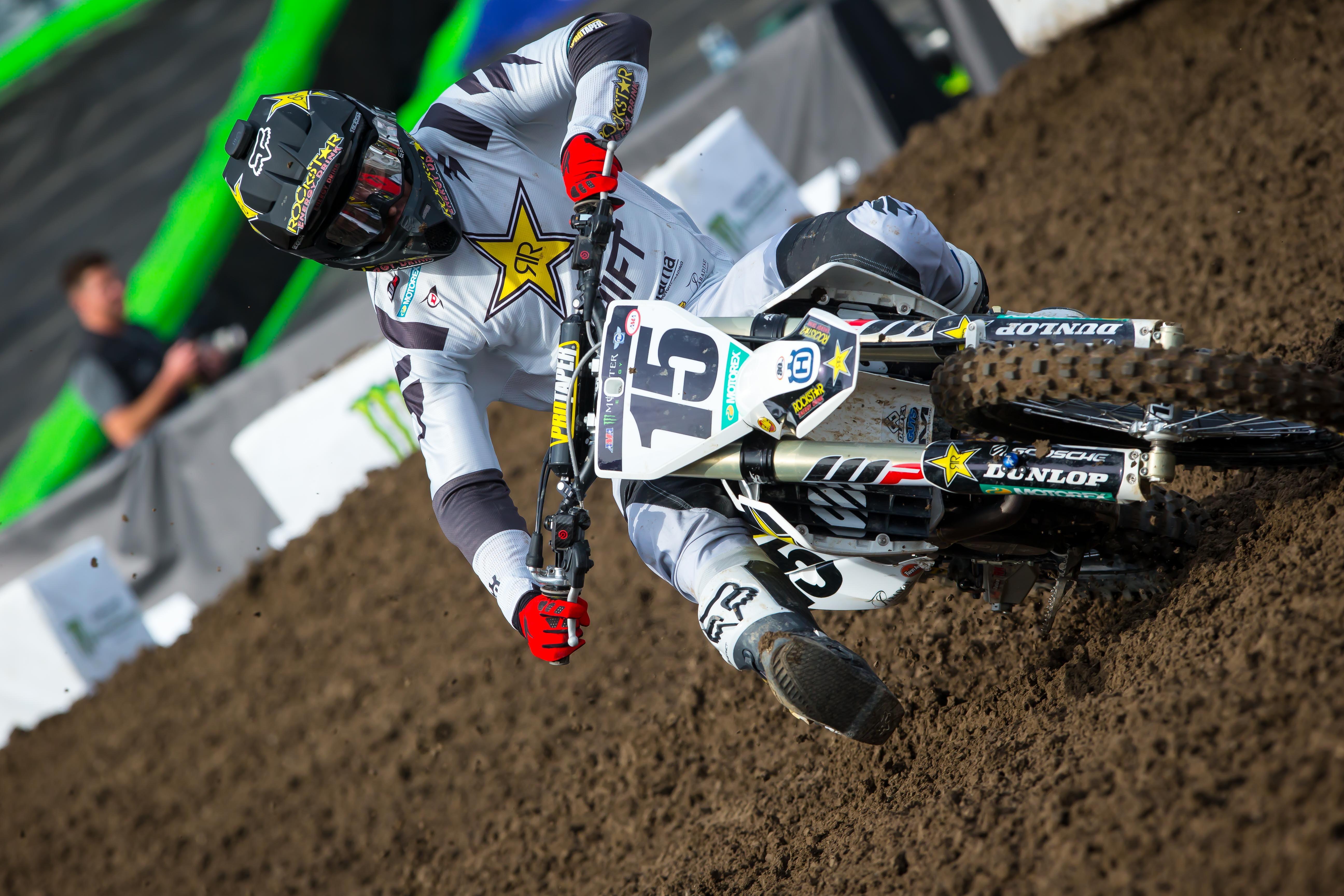 Rockstar Energy Husqvarna Factory Racing Dean Wilson at Anaheim 1