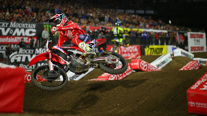TLD's Cole Seely Starts 2018 Supercross Campaign With Sixth at Anaheim