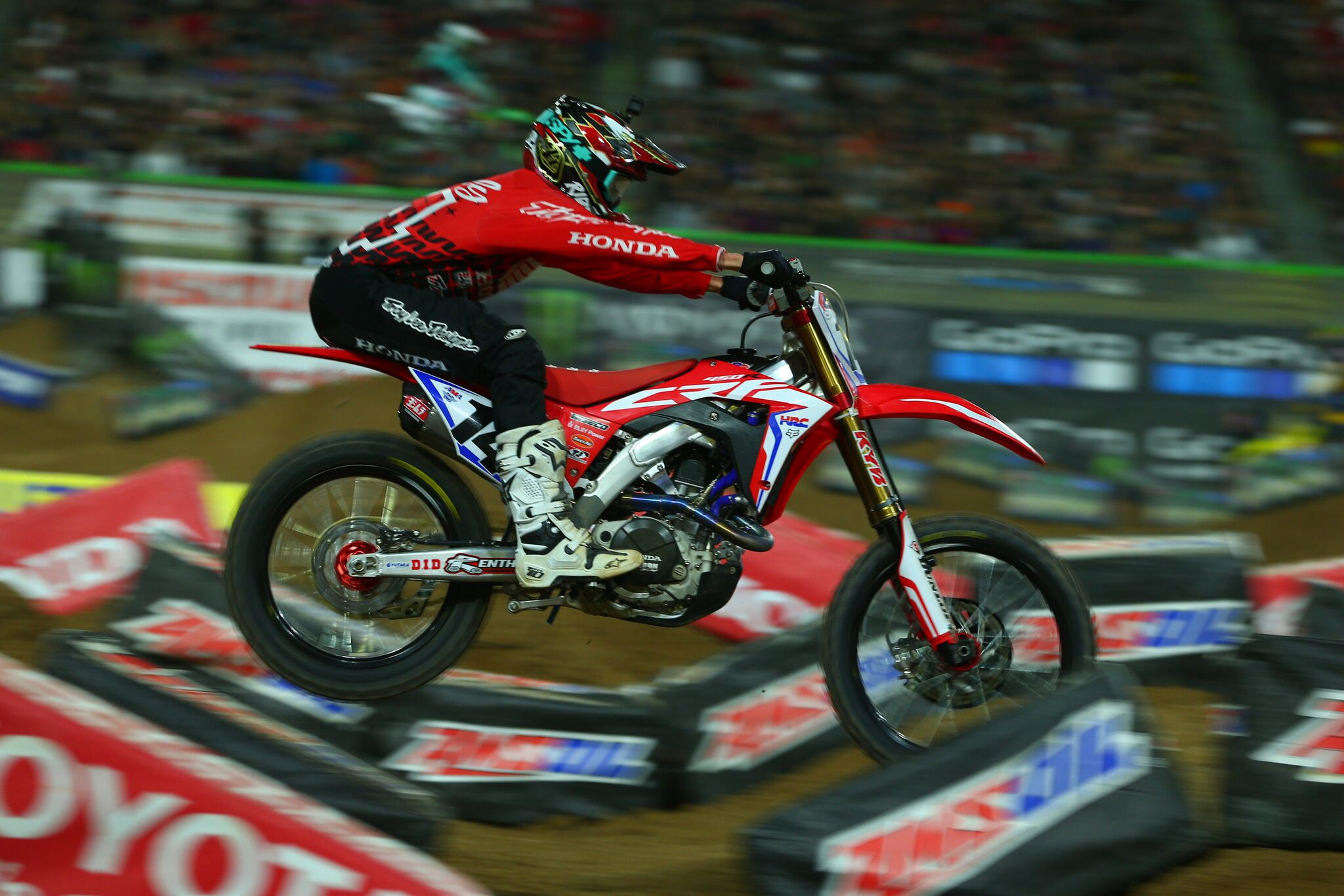 TLD's Cole Seely Overcomes Challenging Conditions to Finish 12th In Glendale 2