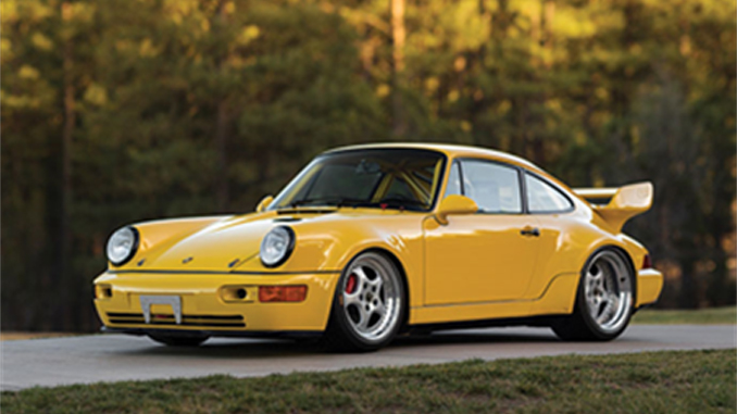 The 765-km 1993 Porsche 911 Carrera RSR 3.8 offered from Exclusively Porsche – The 964 Collection