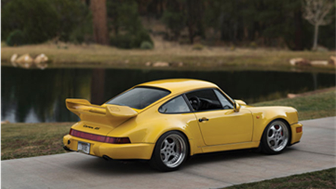 The mint-condition 1993 Porsche 911 Carrera RS 3.8 offered from Exclusively Porsche – The 964 Collection