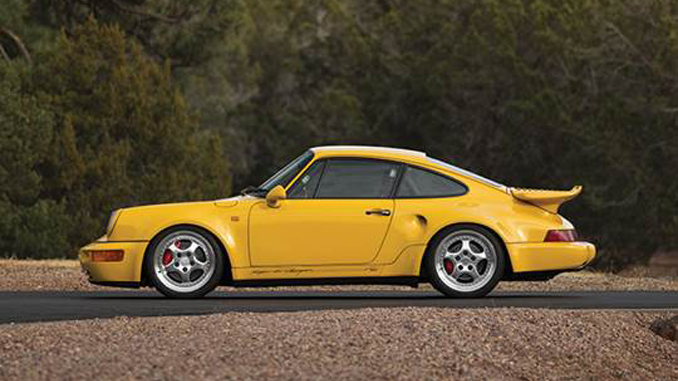 The one-of-86 1993 Porsche 911 Turbo S 'Leichtbau' offered from Exclusively Porsche – The 964 Collection